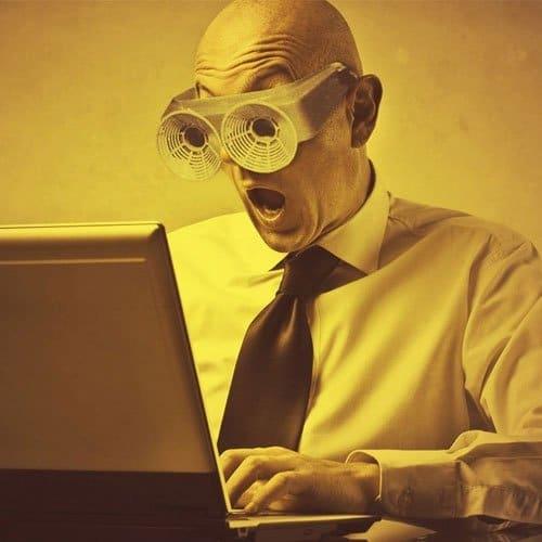 Las gafas para ordenador reducen la fatiga visual